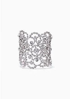 Kate Spade crystal lace cuff