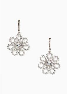 Kate Spade crystal lace drop earrings