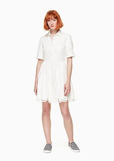 Kate Spade cutwork denim dress