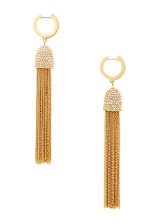 Kate Spade CZ glimmer shimmer huggie earrings
