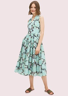 Kate Spade dahlia bloom burnout dress