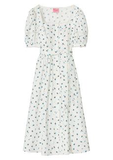 Kate Spade Dainty Bloom Poplin Dress