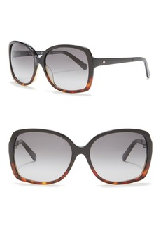 Kate Spade darilynn 58mm oversized sunglasses