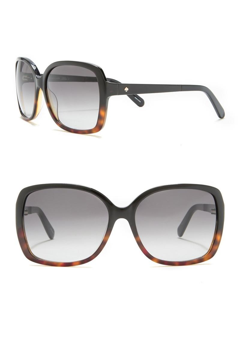 Kate Spade 'darrilyn' 58mm butterfly sunglasses