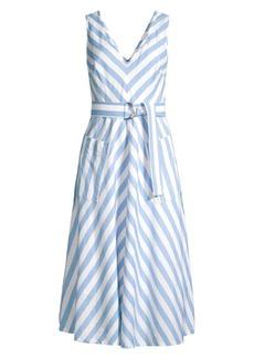 Kate Spade Deck Stripe Midi Dress