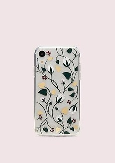 Kate Spade deco bloom clear iphone xr case