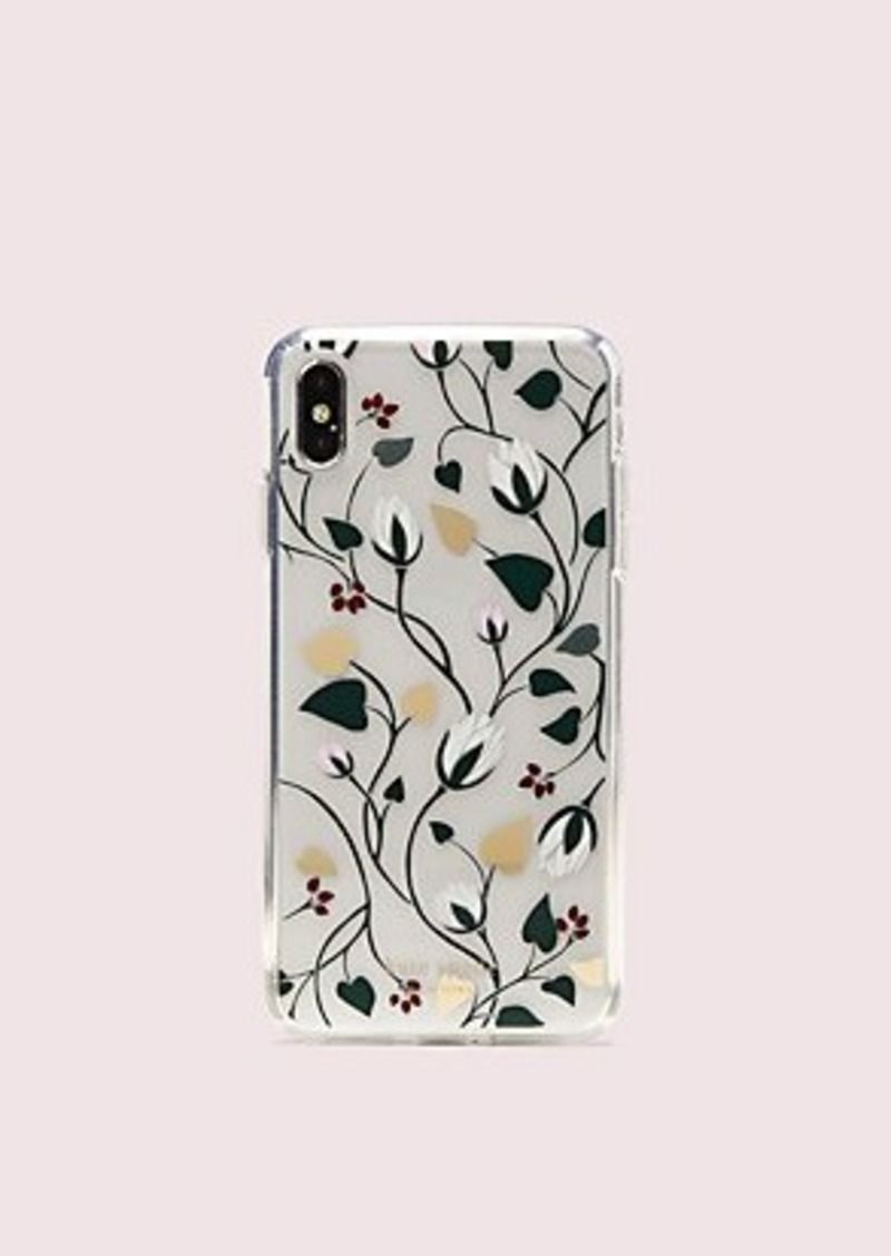 Kate Spade deco bloom clear iphone xs max case
