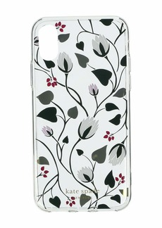 Kate Spade Deco Bloom Clear Phone Case for iPhone XS