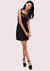 Kate Spade deco spade embellished dress