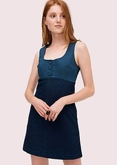 Kate Spade denim pinafore dress