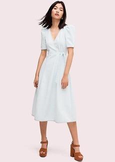 Kate Spade denim wrap dress