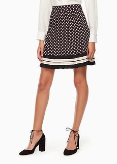 Kate Spade diamond pleated skirt