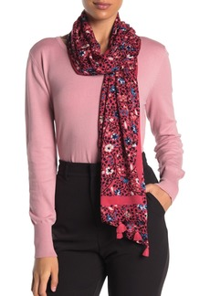 Kate Spade ditsy vine oblong scarf