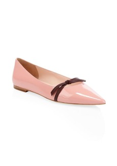 Kate Spade Donna Patent Leather Point-Toe Flats
