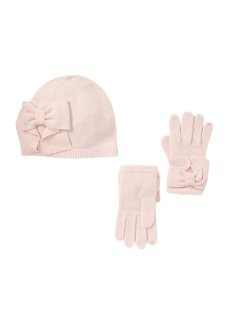 Kate Spade dorothy bow beanie & glove box set