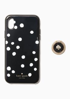 Kate Spade dot ring set iphone xs max case