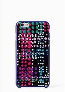 Kate Spade dotty plaid iphone 6 plus case