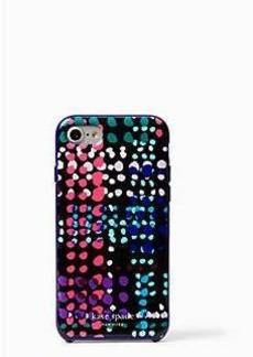 Kate Spade dotty plaid iphone 7 case