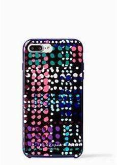 Kate Spade dotty plaid iphone 7 plus case
