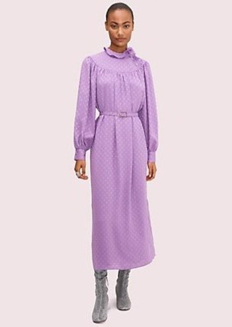 Kate Spade dotty ruffle dress