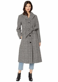 Kate Spade Double Breasted Wool Belted Trench