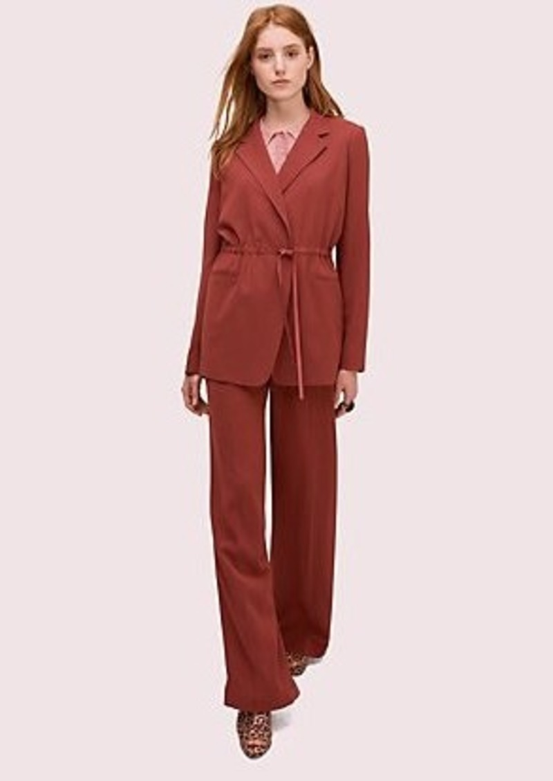 Kate Spade draped suiting blazer