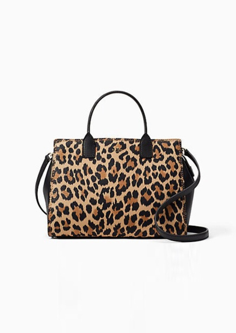 3a32bd1ac04d Kate Spade dunne lane leopard-print lake | Handbags