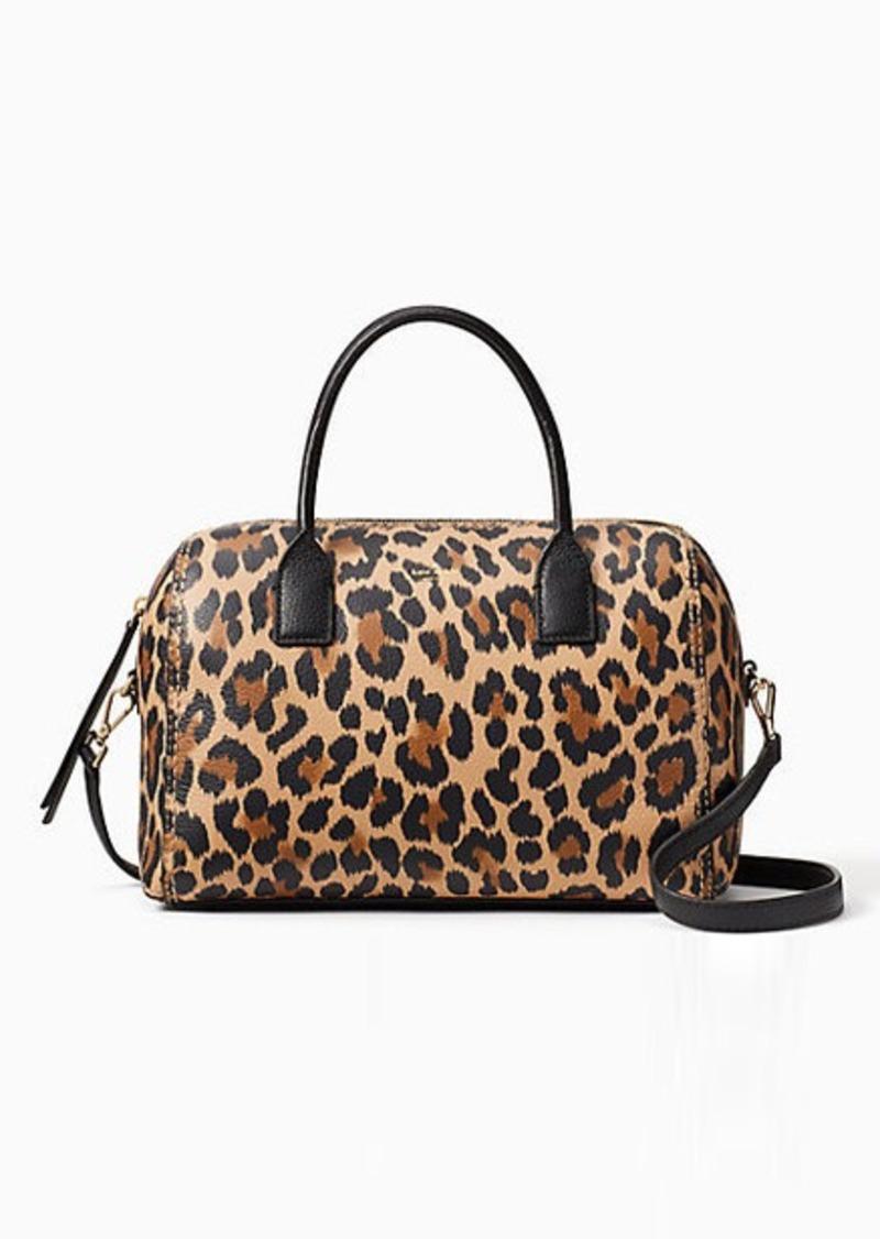 ca6f51b1b Kate Spade dunne lane leopard-print mega lane | Handbags