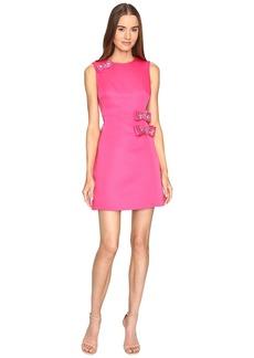 Kate Spade Embellished Bow A-Line Dress