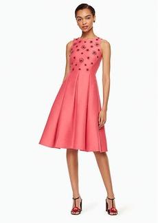 Kate Spade embellished fit and flare dress