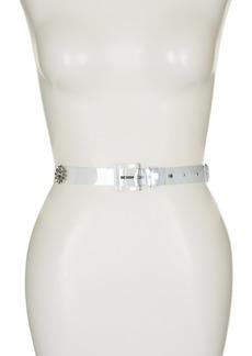 Kate Spade embellished jewel jelly belt