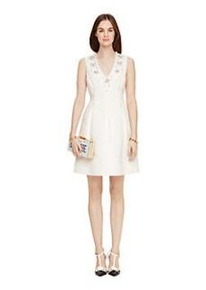 Kate Spade embellished structured dress