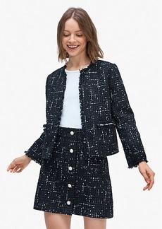 Kate Spade Embellished Tweed Jacket