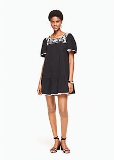 Kate Spade embroidered dress