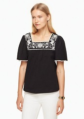 Kate Spade embroidered tee