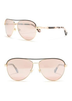 Kate Spade emilyann 59mm aviator sunglasses