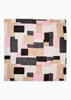 Kate Spade empire geo wool scarf