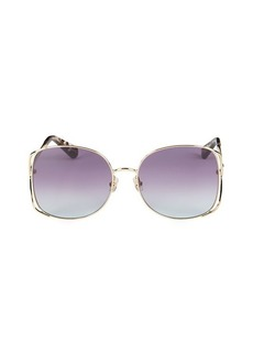 Kate Spade Emylee 59MM Cutaway Square Sunglasses