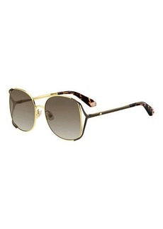 Kate Spade emyleegs metal square sunglasses