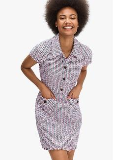 Kate Spade Enchanted Tweed Shirtdress
