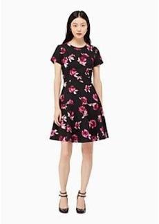 encore rose crepe dress