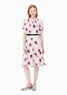 encore rose flutter dress
