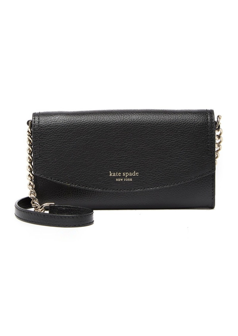 Kate Spade Eva Leather Chain Wallet