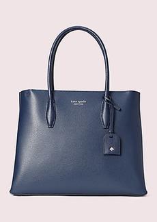 Kate Spade eva medium top zip satchel