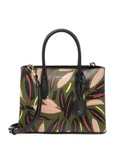 Kate Spade eva modern small feather satchel