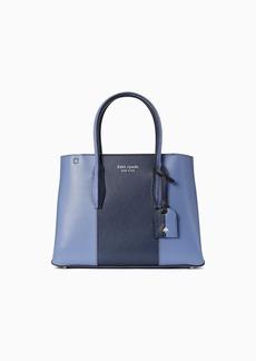 Kate Spade eva split handle small top zip satchel