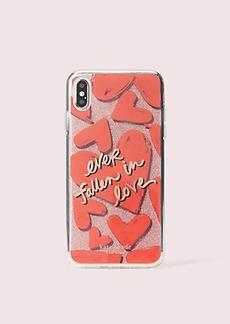 Kate Spade ever fallen in love iphone 11 xs max case