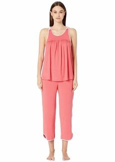 Kate Spade Evergreen Fashion Cropped Tank Pajama Set