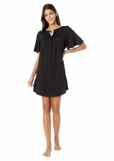 Kate Spade Evergreen Modal Jersey Short Sleeve Sleepshirt