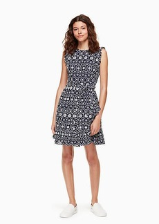 Kate Spade eyelet wrap dress